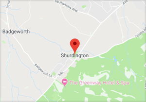 Shurdington Location